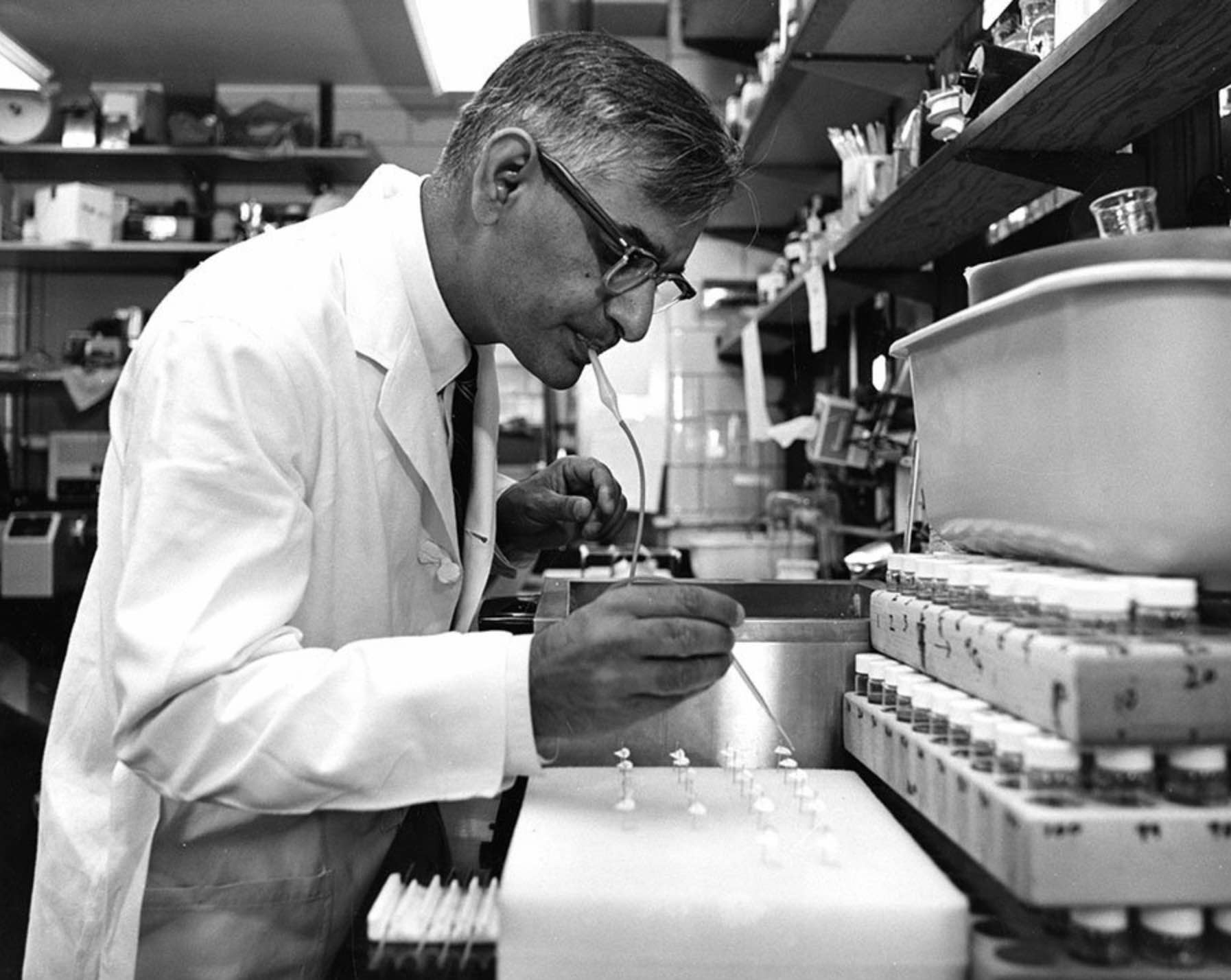 Gobind Khorana and the rise of molecular biology