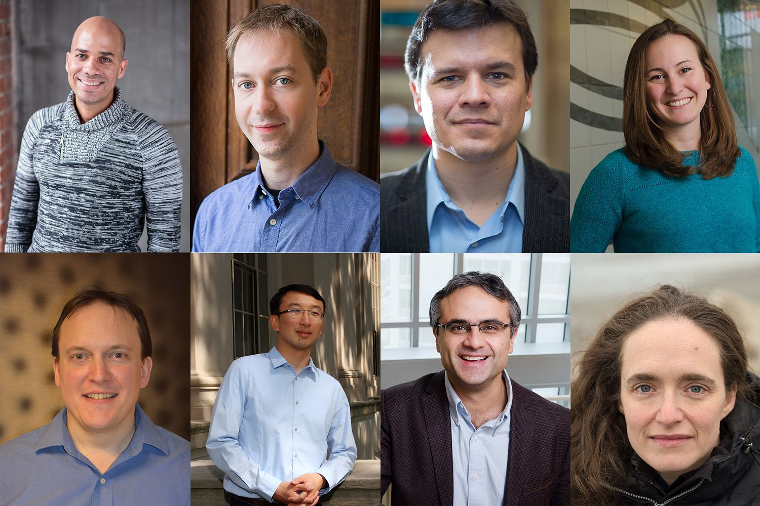 School of Science appoints eight faculty members to named professorships