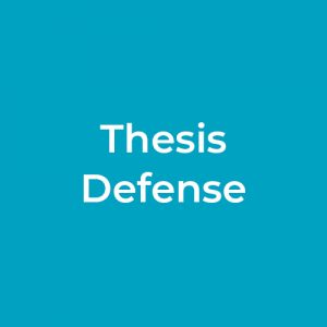 Thesis Defense – Alicia Zamudia