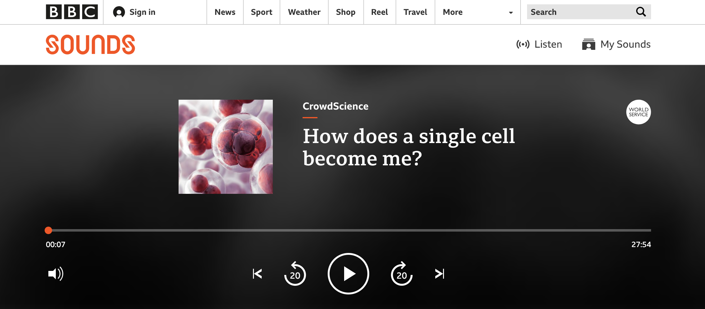 How does a single cell become me?