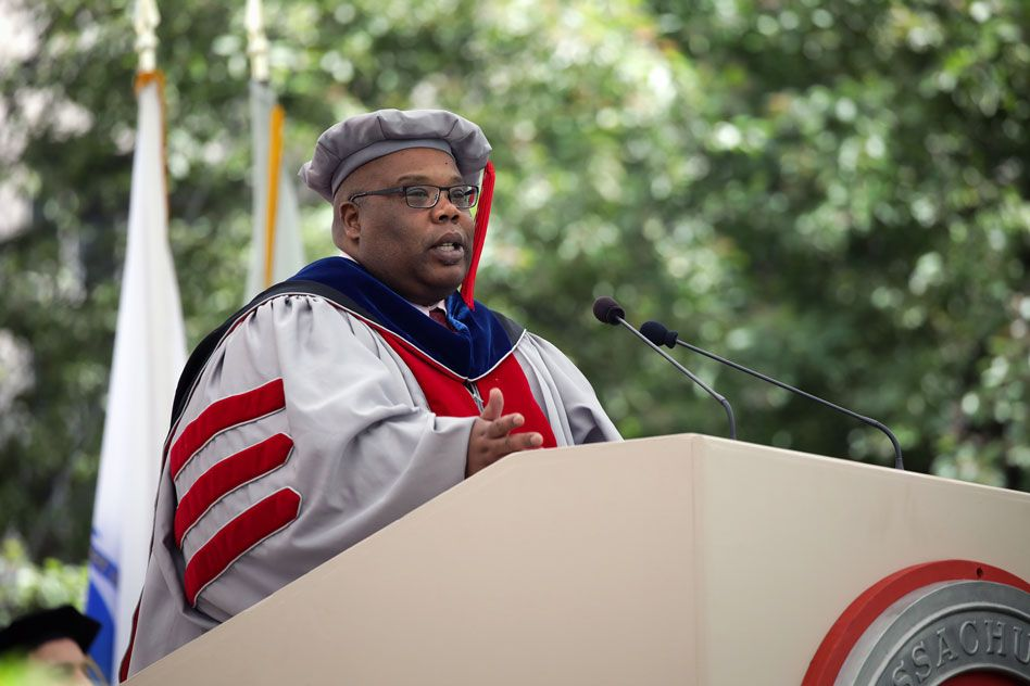 At doctoral ceremony, a strong call to provide opportunity for all