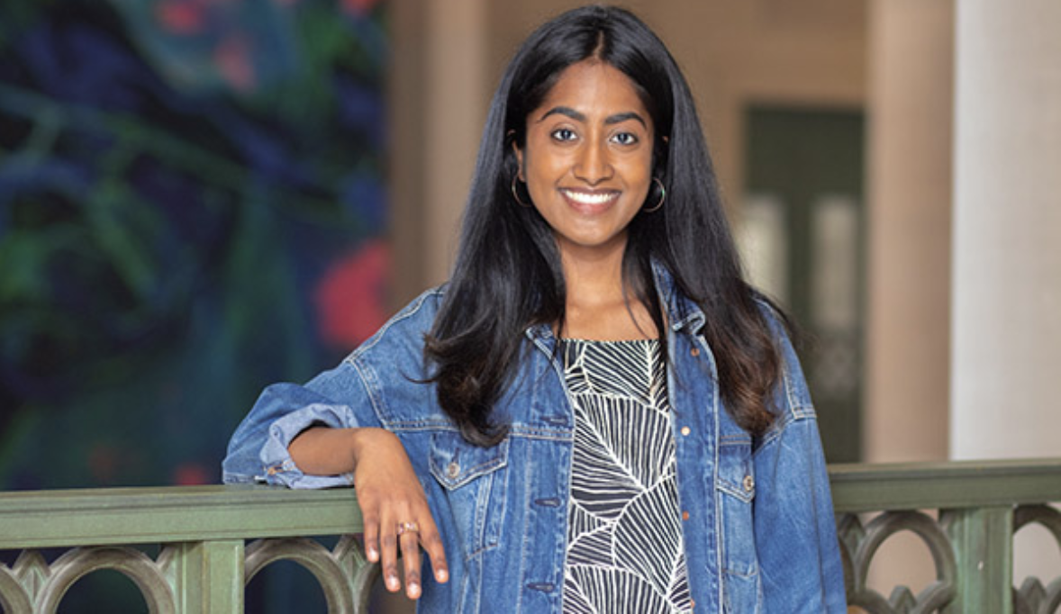 Ankita Reddy '19 blends anthropology and biology to improve public health