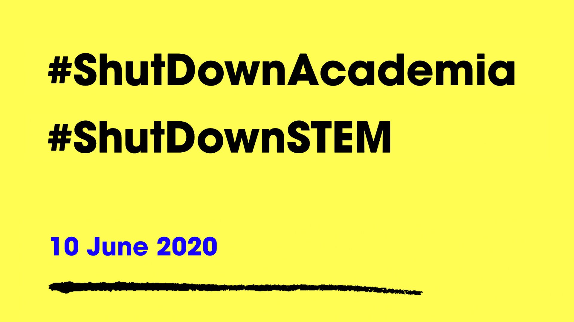 #ShutDownSTEM Program