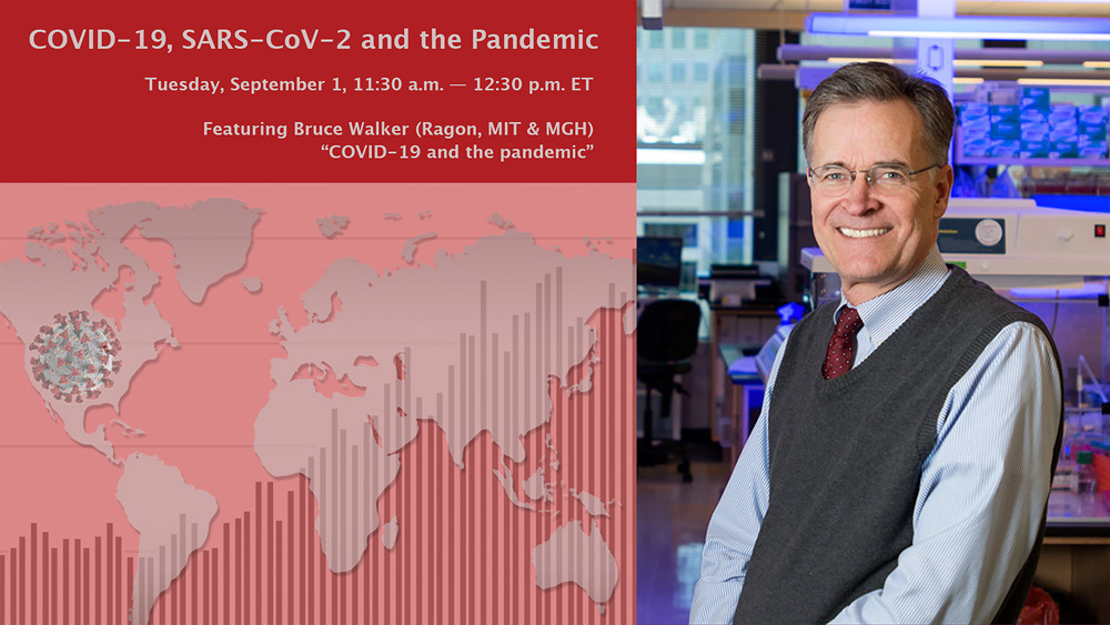 """Bruce Walker: """"COVID-19 and the pandemic"""""""