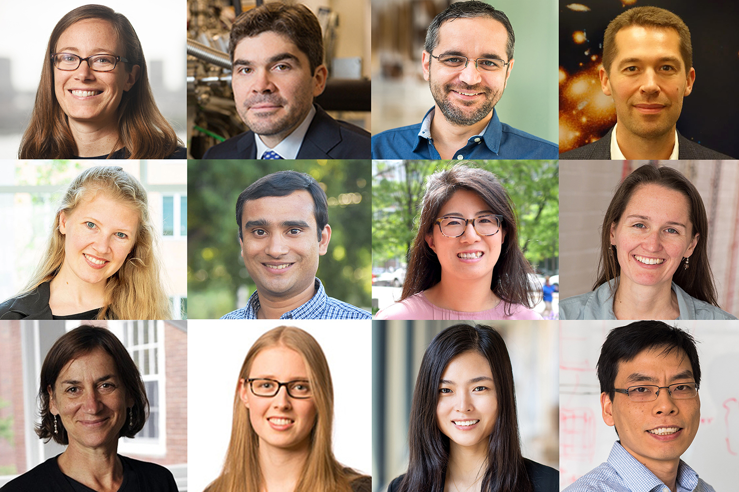 School of Science appoints 12 faculty members to named professorships