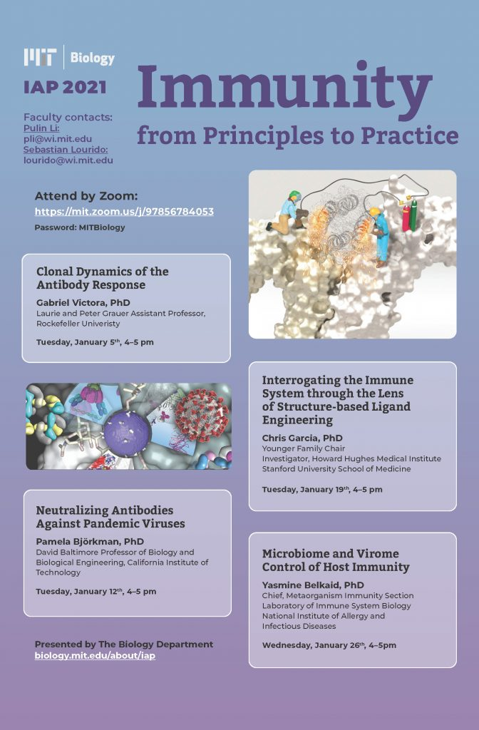IAP 2021 Poster - Immunity from Principles to Practice