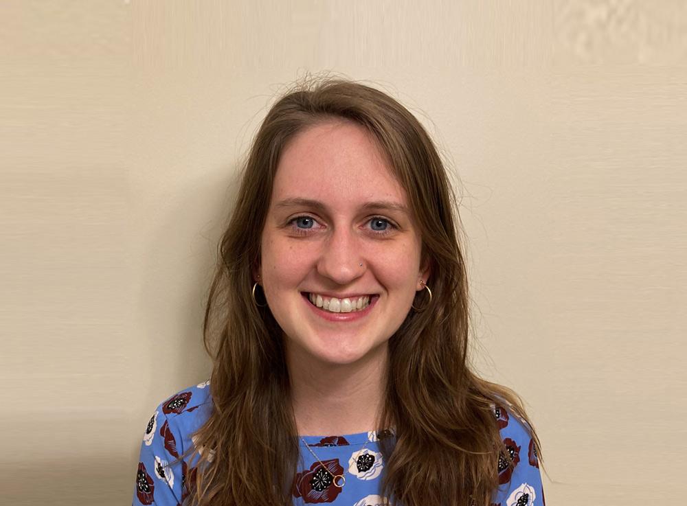 Grace Johnson earns Harold M. Weintraub Graduate Student Award